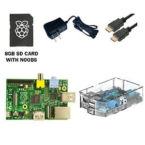 CanaKit 2 5A Raspberry Pi B Power SupplyAdapterCharger UL