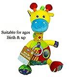 MaSaYa Cute plush Activity Giraffe soft toy by AtoZ
