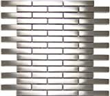 Stainless Steel Tiles Earthworks Series Edger Thin Brick Mosaic