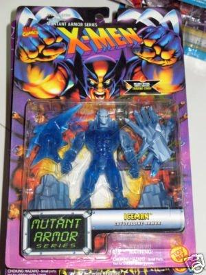 X-Men Iceman Crystalline Armor Mutant Armor Series Figure - 1