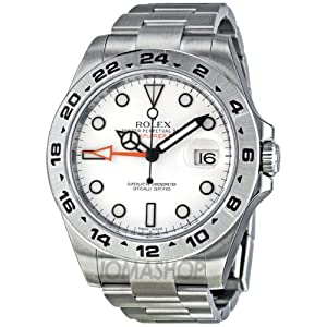 Rolex Explorer II Gents Casual Watch 216570WSO