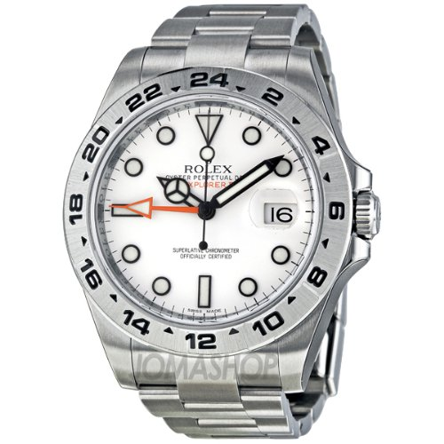 Rolex Explorer II White Automatic Stainless Steel