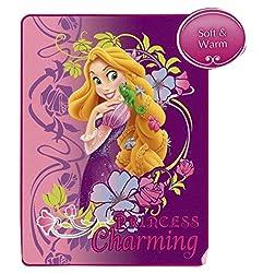 Disney Princess Rapunzel Tangled Micro Raschel Blanket Throw PRINCESS Charming