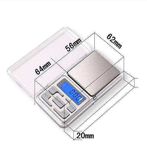 Balance numérique 200 g x 0.01 g (très précise, wake-up-easy précision, scale pocket