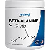 Nutricost Beta Alanine - Pure Beta Alanine 300G - 100% Pure - Best to Improve Your Workout