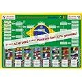 Wir sind Weltmeister 2014 !! SAMMLEROBJEKT - MAGNETTAFEL mit WM Spielplan TOP***