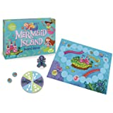Peaceable Kingdom Mermaid Island Board Game