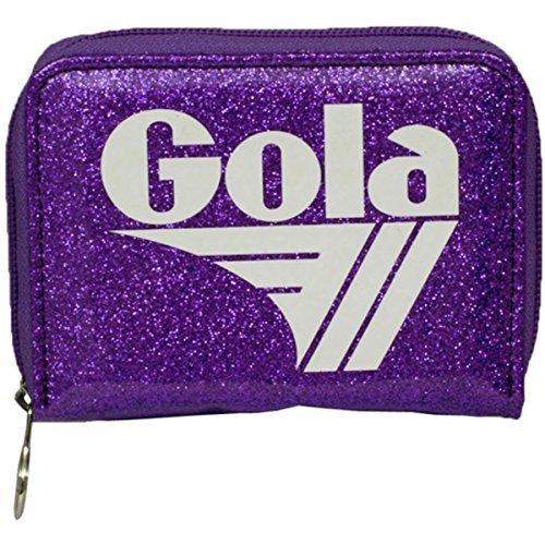 Portafoglio GOLA Zip Davis Sparkle - ZCUB871VW 13x10 - Violet/White