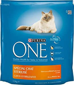 Purina One Chat - Stérilisé Poulet - 1,5 kg