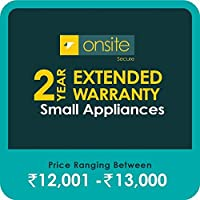 Onsite Secure 2 Year Extended Warranty for Small Appliances (Rs 12001 - 13000)