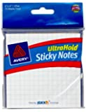 "UltraHold Sticky Notes Graph Pad, 4"" x 4"", 75 Sheets (22712)"
