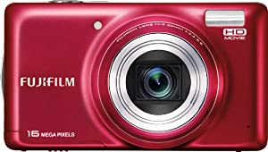Fujifilm FinePix T400 Digital Camera (Red)