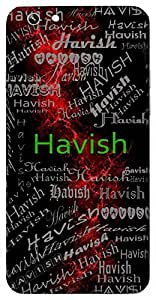Havish (Lord Shiva) Name & Sign Printed All over customize & Personalized!! Protective back cover for your Smart Phone : Samsung Galaxy S4mini / i9190