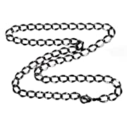 Gunmetal 6mm Curb Chain