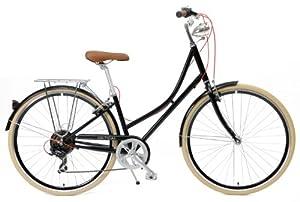 Critical Cycles Dutch Style Step-Thru 7-Speed Shimano Hybrid Urban Commuter