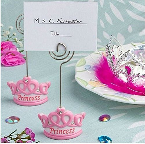 Princess Crown Place Card Holder Photo Holder, 12