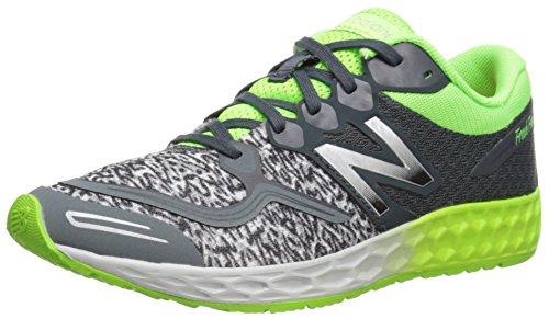 New Balance K1980 Fresh Foam Zante Running Shoe , Grey/Yello