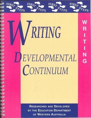 Writing Developmental Continuum