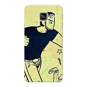 Mobile Back Cover For Samsung Galaxy A9 (Printed Designer Case)