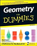 img - for Geometry For Dummies 2nd (second) Edition by Ryan, Mark [2008] book / textbook / text book