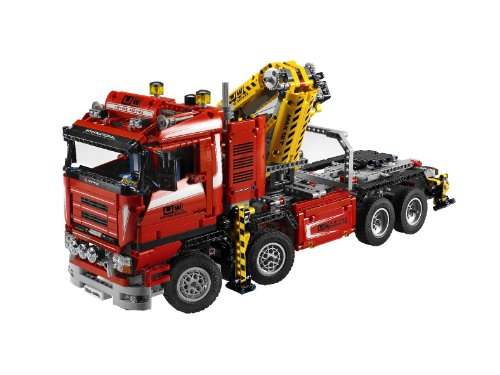 lego technic 8258 camion con gru. Black Bedroom Furniture Sets. Home Design Ideas