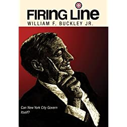 "Firing Line with William F. Buckley Jr. ""Can New York City Govern Itself?"""