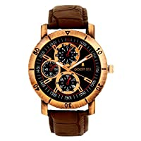 Golden Bell Analogue Multi-Colour Dial Watch for Men- GB-172Blk
