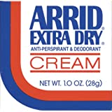 Arrid Extra Dry Anti Perspirant & Deodorant Cream 1 Oz (Pack Of 6)