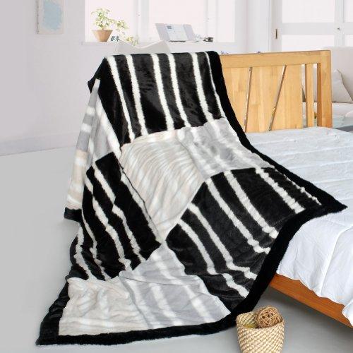 Cow Print Fleece Blanket