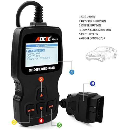 Ancel AD310 Classic Enhanced Universal OBD