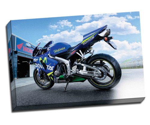 honda-cbr-600rr-movistar-motorbike-canvas-art-print-poster-30x-20-inches