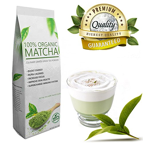 Everyday Matcha (16oz) - Culinary Grade Green Tea Powder - USDA Organic - Ideal for Starters - Great Quality at Low Cost (Honey Delight Tomato Seeds compare prices)