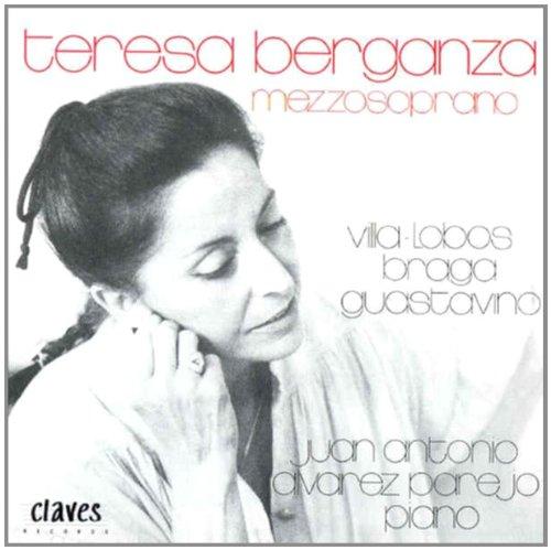 Chants Sud-Americains De Villa-Lobos, Braga & Guastavino Berganza, Mezzo & Alvarez-Parejo, Piano