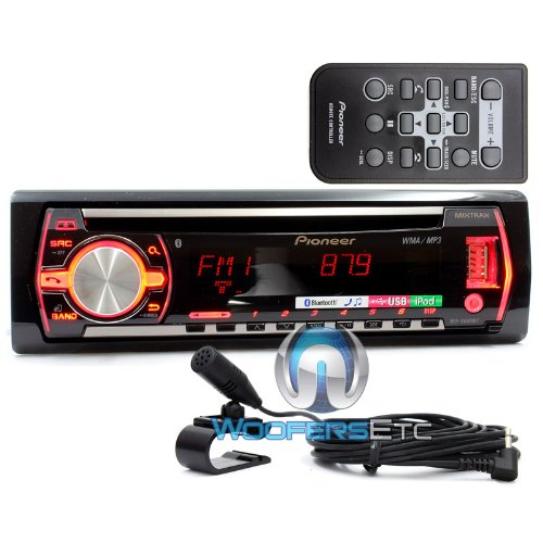 On Sale Pioneer Deh-x6500bt Cd Mp3 Usb Sd Car Stereo