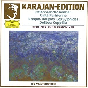 Karajan-Edition: 100 Meisterwerke (Offenbach / Chopin / Delibes)