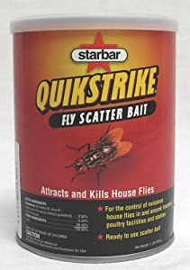 Farnam Home and Garden 3006231 Starbar Quik Strike Fly Scatter Bait, 1-Pound
