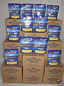 28 Cases Mountain House Freeze Dried Food in Pouches SALES! NEW! 366 servings