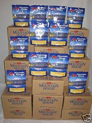 28 Cases Mountain House Freeze Dried Food in Pouches SALES! 15% OFF
