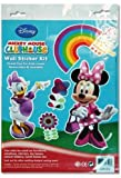 Ddi - Disney Minnie Mouse 14x9.5 Wall Sticker Kit (1 pack of 72 items)