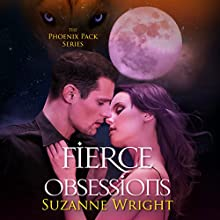Fierce Obsessions Audiobook by Suzanne Wright Narrated by Jill Redfield