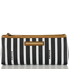 Small Stella Pouch<br>Black Signature Stripe