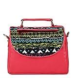 Borsavela Women's Sling Bag Pink (BVSL06PK)