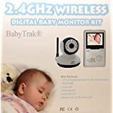 "Best View Handheld Wireless 2.4 GHz Color Video Digital Baby Monitor with 2.4"" Screen, IR Night Vision, 2 Way Talking, Zoom, and 360� Rotation ~ FDL"