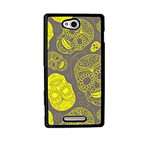 Skulls Case for Sony Xperia C