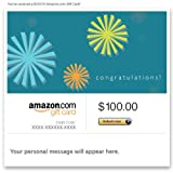Amazon Gift Card - E-mail - Congratulations (Starbursts)