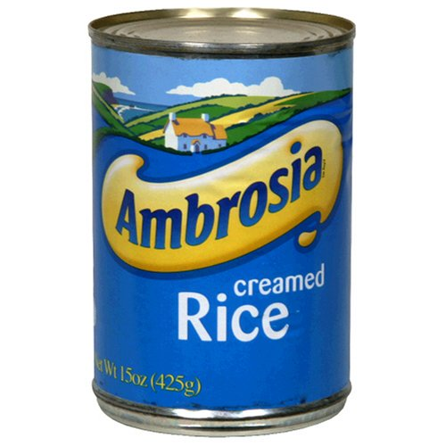 Ambrosia Creamed Rice, 15-Ounce Can (Pack of 4)