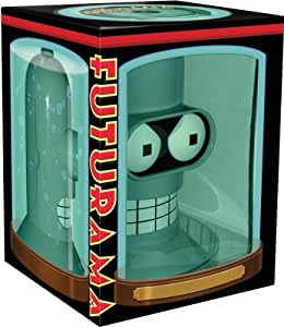 Futurama Bender Head - Seasons 1-4 and Films DVD