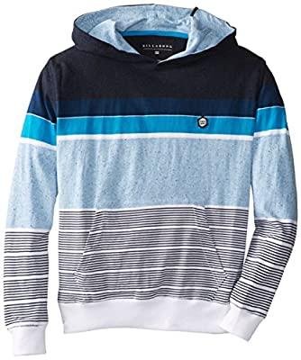 Billabong Big Boys' Spinner Jersey Pullover Hoodie, Eclipse, Large