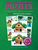 Find the Difference Puzzles Book 2: An Observation Activity Book for Younger Children