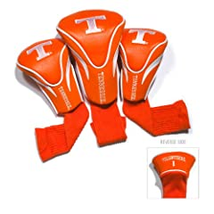 NCAA Tennessee Volunteers 3 Pack Contour Golf Club Headcover by Team Golf